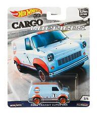 Ford Transit Super Van MK1 Hot Wheels Car Culture Cargo Carriers GULF FLC13
