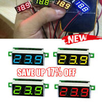 0.28 Inch 2.5V - 30V Mini Digital Voltmeter Voltage Good 4 Testers Meter H0A7