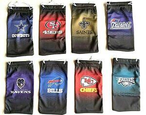 NFL Football Team Logo Microfiber Sunglasses Bag Pouch - Pick Your Team!