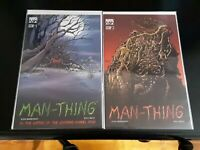 Man-Thing #1-3 By Writer of Upcoming Film High Grade Comic Book RM7-49