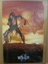 Vintage 1985 W.A.S.P original rock band music artist poster 8845