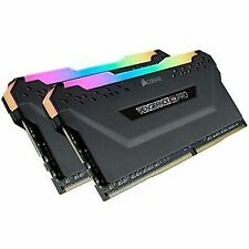 Corsair Vengeance RGB PRO 2x16GB DDR4 Desktop Memory - Black