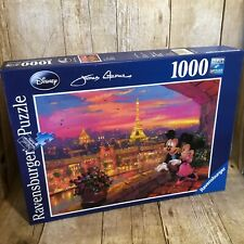 Disney Ravensburger Puzzle Mickey Minnie In Paris 1000 Piece James coleman
