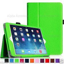 Cuero Libro Funda con Soporte para Apple iPad 4 3 2 , MINI 4,3, air pro