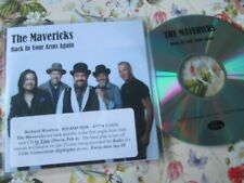 The Mavericks Back in Your Arms Again Mercury Records Promo CD Single