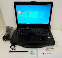 Panasonic Toughbook CF-53 MK3 i5-3340 4G/LTE/GPS 8GB RAM 120GB SSD Win10 Pro