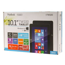 "WinBook TW100 10.1"" Tablet, Microsoft Windows 8, 32 GB Storage, Wi-Fi & more"