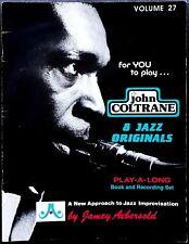 John Coltrane, 8 Jazz Originals, Ed. Jamey Aebersold, 1983
