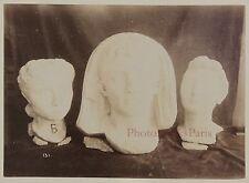 TunisieObjets d'art trouvés dans les fouilles de Carthage Vintage albumine
