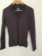 adidas adiPURE Ladies Golf Stretch Knit Quality Sweater / Jumper Brown Size 10