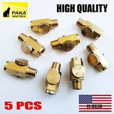 "5 pc - Air Regulator Brass Air Compressor Adjustable Air Flow Tools 1/4"" NPT"