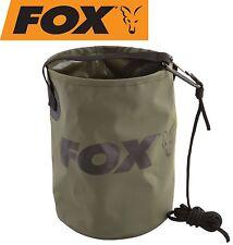 Fox Collapsible Water Bucket Falteimer, faltbarer Angeleimer zum Karpfenangler