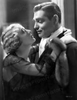 8x10 Print Clark Gable Dorothy MacKaill No Man of Her Own 1932 #DMCG