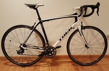 Trek Domane 4.5 Carbon Fiber Road Bike 58cm Ultegra/105 10 Speed Blk/Wht