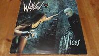 Waysted – Vices Vinyl LP Album 33rpm Chrysalis – CHR 1438 1983