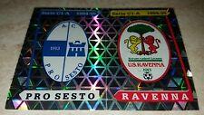 FIGURINA CALCIATORI PANINI 1994/95 SCUDETTI PRO SESTO RAVENNA 573 ALBUM 1995