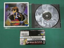Neo Geo CD -- The King of Fighters '97 - spine card. JAPAN GAME. SNK. 18916