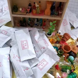 10Pcs 1:12 Dollhouse Miniature Accessories Blind Bags Dollhouse Model Toys C_dr
