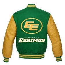Edmonton Eskimos CFL Varsity Jacket all sizes
