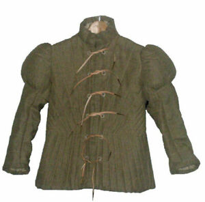 Medieval Thick padded Gambeson Clothing Dress Jacket Costumes Halloween