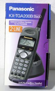 Panasonic KX-TGA200B 2.4 GHz Handset For KX-TG2000B Cordless Phone System