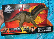 2019 Mint NIB Mattel Dino Rivals Jurassic World  Amargasaurus Toy Gift Collect