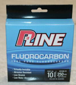 P-Line Fluorocarbon 10lb 250 Yard Fishing Line #SFC250-10