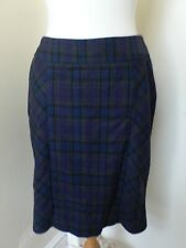 12 Tartan Pencil Skirt Back Waterfall/Bow by Topshop