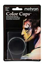 Greasepaint Color Cups Mehron Black Ships Free