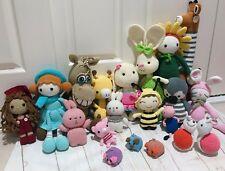 Handmade Knit Crochet Amigurumi Stuffed Aminals Toys Doll Baby Toddler Children