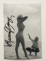 Bunny Yeager Autographed Photo Playboy Playmate Photographer