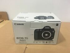 Brand New Canon EOS 7D Mark II 20.2MP Digital SLR Camera - Black (Body Only)