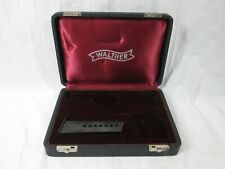 Vintage Walther P38 9Mm Pistol Case With Magazine