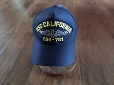 USS CALIFORNIA SSN-781 U.S NAVY SUBMARINE HAT U.S MILITARY OFFICIAL BALL CAP US