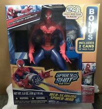 Web Slinging Spider Man Hasbro NIB Action Hero Water Fun LAST ONE!!!