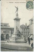 CPA-10 - TROYES - Monument des Bienfaiteurs
