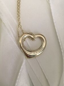 Tiffany&Co Floating Heart Necklace