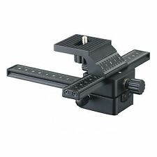 Kaavie Pro 4 Way Macro Focusing Rail Slider Truck for Nikon Canon Olympus