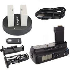 Meike LCD Battery Grip For Canon 550D 600D 650D 700D + 2*LP-E8 Battery + Charger