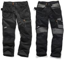 Scruffs Sale 3D Trade Hardwearing Graphite Grey & Black Work Trousers Clearance