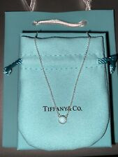 Tiffany & Co. Elsa Peretti Color By The Yard Pendant Necklace Turquoise 16in.