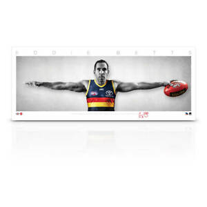 Eddie Betts Signed Adelaide Crows Mini Wings Official AFL Print ONLY BRAND NEW