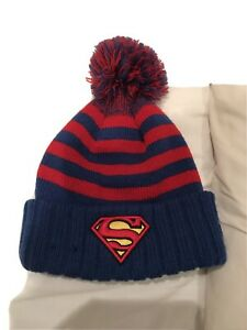Blue And Red Superman Bubble Hat