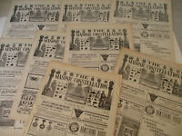 Masonic Constellation Freemasonry Antique Newspaper Knights Templar Mason 1900