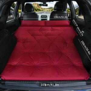 Car Air Bed Travel Inflatable Mattress Seat Air Bed Inflatable Sleep Rest Pillow