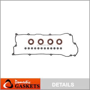 Fit 95-99 Nissan Sentra 200SX 1.6L DOHC Valve Cover Gasket Set GA16DE