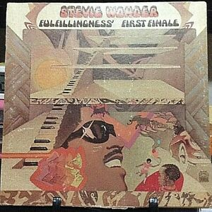 STEVIE WONDER Fulfilllingness' First Finale Album Released 1974 Vinyl USA
