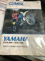 Clymer  Yamaha IT125-490 1976-1986 Service, Repair, Maintenance Book