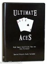 Ultimate Aces Dvd - Several Professional Routines - Magic Trick - Us Seller