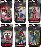Marvel Legends ~ DEADPOOL SERIES 2 Action Figure Set w/SAURON BAF Complete